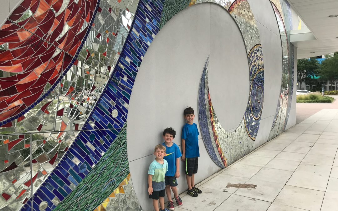 Visiting the Glazer Children's Museum, Tampa
