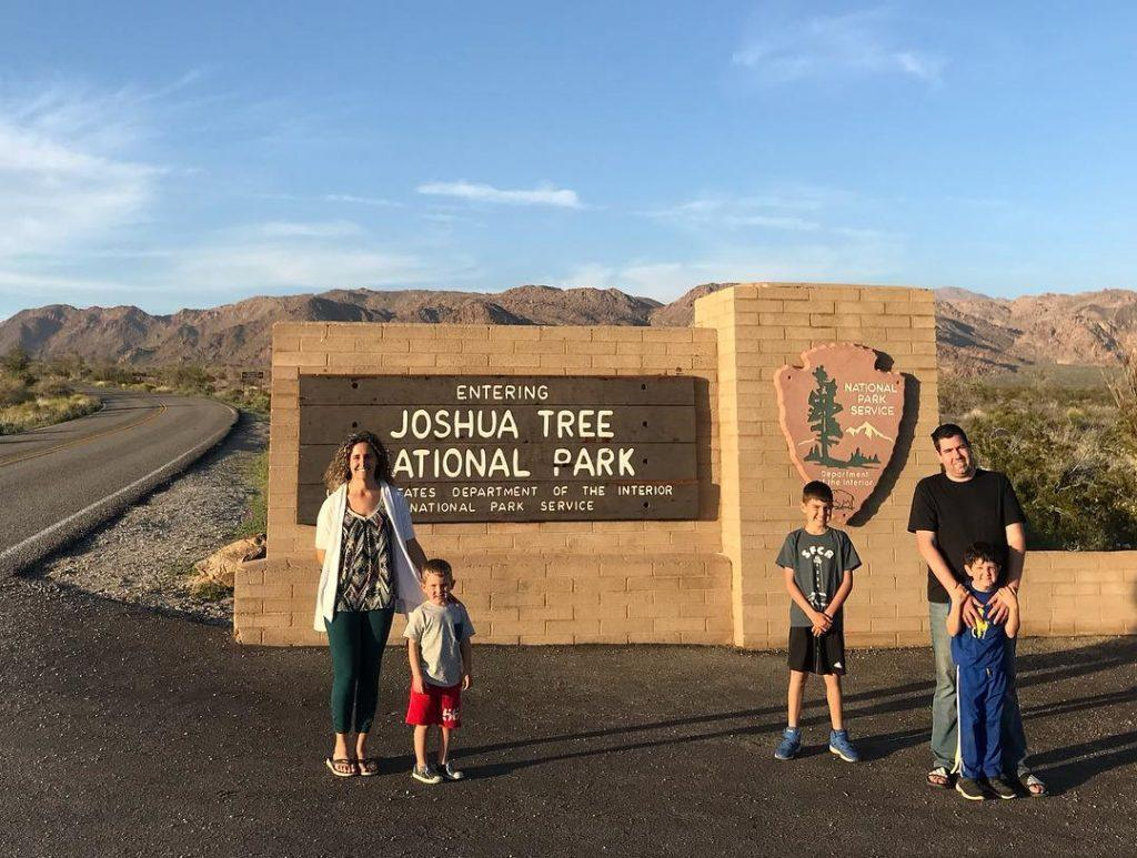 Joshua Tree National Park in California