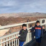Boys at the The Hoover Dam