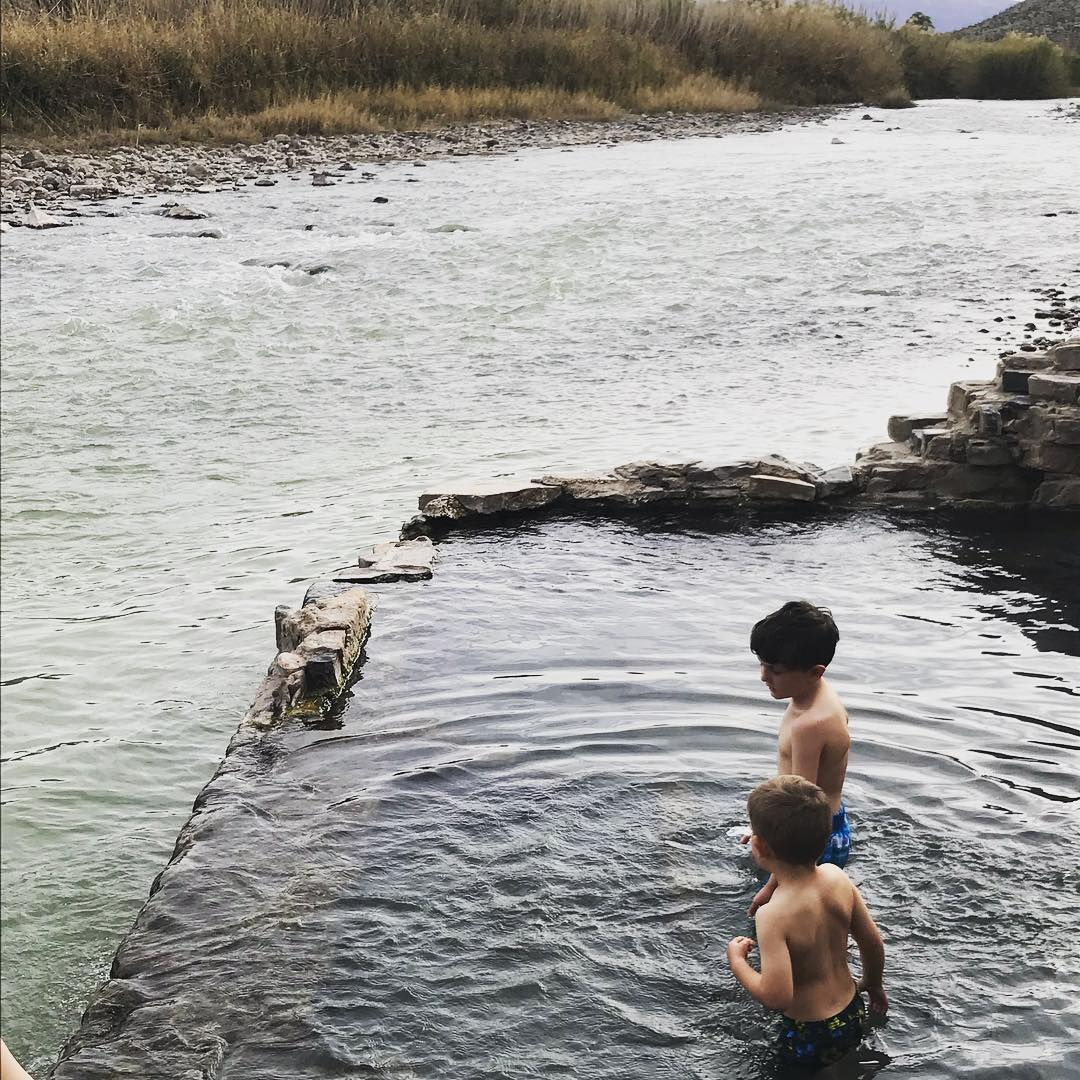 Testing the hot springs