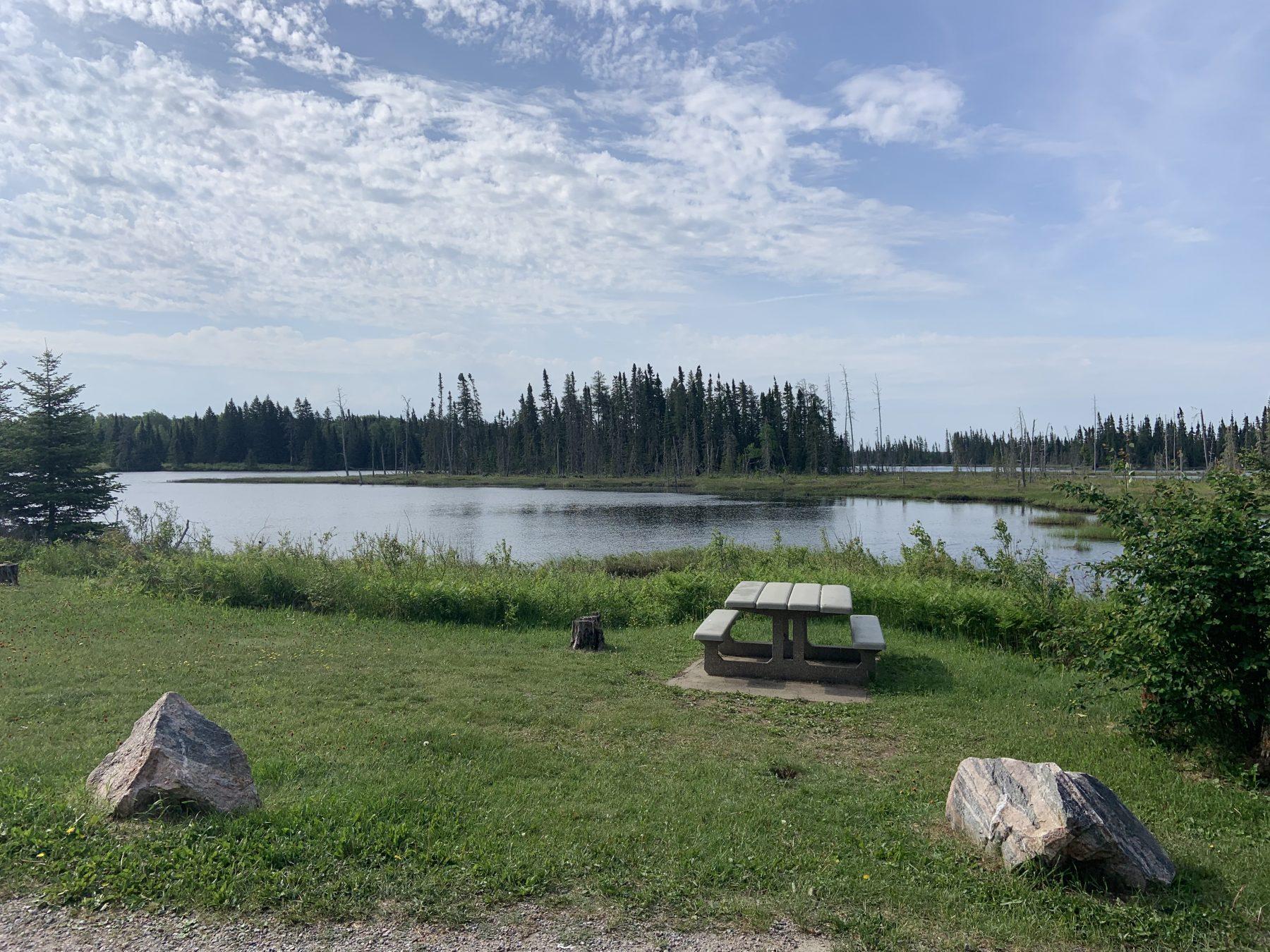 Rest Area Campsite