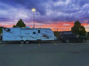 Boondocking at Walmart